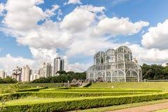 CURITIBA, PARANA/BRAZIL - DECEMBER 26 2016: Botanical Garden in a sunny day