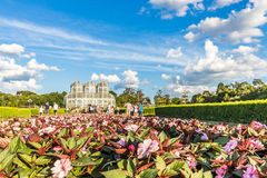 CURITIBA, PARANA/BRAZIL - DECEMBER 26 2016: Botanical Garden in a sunny day Stock Image