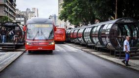 Curitiba in Parana, Brazil Stock Photos