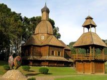 Curitiba Piękny park obraz stock