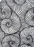 Curl line Spiral pattern Art abstract background Royalty Free Stock Photography