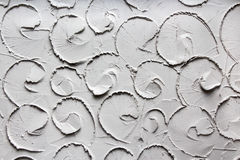 Curl Pattern. Pattern of a curls take from a wall Stock Images