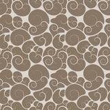 Curl, scroll or swirl pattern Stock Image