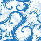 Curl seamless pattern Stock Photos