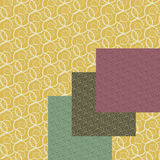 Curled backgrounds set Royalty Free Stock Photography