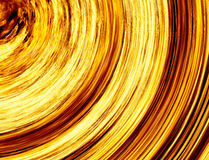 Curled bright explosion fire rays on black backgrounds Royalty Free Stock Photography