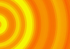 Curled bright sun rays background Stock Photo