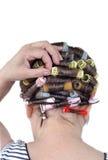 curler włosy Fotografia Stock