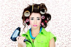 Curlers Stock Image