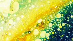 Curlicue красок Стоковое фото RF