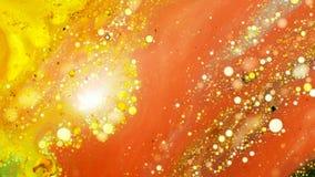 Curlicue красок Стоковое Изображение RF