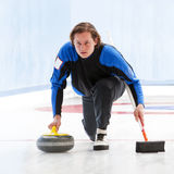 Curling Royalty Free Stock Photography