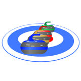 Curling-1 ilustración del vector