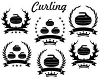 curling Foto de archivo