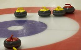 curling Stock Afbeelding