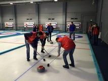 curling Foto de archivo libre de regalías