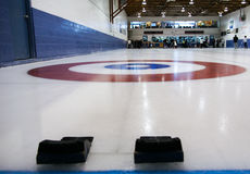Curling field Royalty Free Stock Photos
