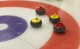 Curling Royalty Free Stock Photo