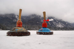 Curling in Germany Stock Image