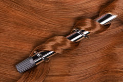 Curling iron Royalty Free Stock Image