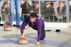 Curling in Prague Stock Photos