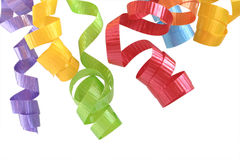Curling Ribbon Stock Image