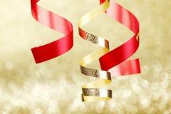 Curling ribbons Royalty Free Stock Photos