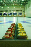 Curling rinks Stock Photography