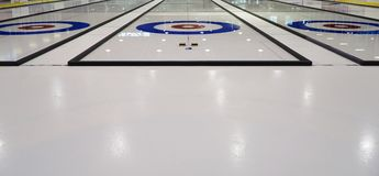 Curling Sheets Stock Images