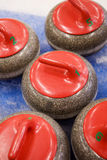 Curling Situation Stock Image