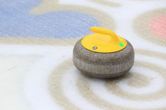 Curling stone Royalty Free Stock Photography