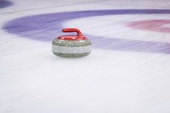 Curling Stone Royalty Free Stock Photo