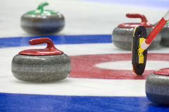 Free Curling Stones Royalty Free Stock Image - 23554116