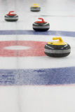 Curling Stones in the House royalty free stock photography