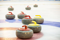 Curling Royalty Free Stock Photos
