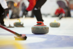 Curling Royalty Free Stock Images