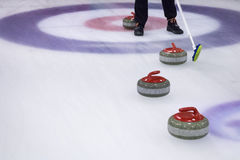 Curling Stones Stock Image