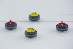 Curling stones Royalty Free Stock Image