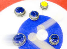Curling tactics Stock Photo