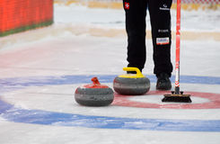 Curling target Stock Photography