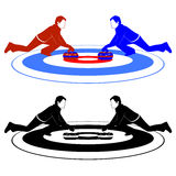 Curling 2 Stock Photography