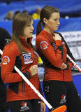 Curling Women Canada Homan Miskew Stock Photo