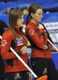 Curling Women Canada Homan Miskew Stock Photo