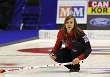 Curling Women Canada Rachel Homan Skips Royalty Free Stock Image