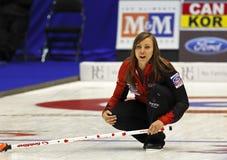Curling Women Canada Rachel Homan Skips Royalty Free Stock Image