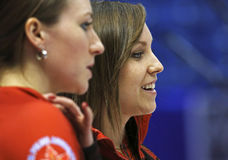 Curling Women Canada Rachel Homan Smile Stock Photo