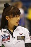 Curling Women Korea Un-chi Gim Royalty Free Stock Photo