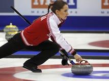 Curling Women Russia Anna Sidorova Royalty Free Stock Photos