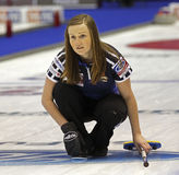 Curling Women Scotland Kerry Barr Stock Images
