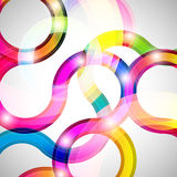 Curls abstract background. Royalty Free Stock Photos